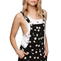 LA Hearts Short Overalls - Womens Dress - Multi -