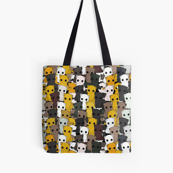 'Cute cats pattern' Tote Bag by ValentinaHramov