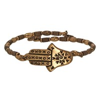 Alex and Ani Hamsa Wrap - Russian Gold