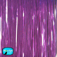 100 Strands - VIOLET Hair Tinsel - 36 Inches Long