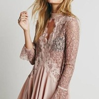 Landen Jaded Lace Tunic Top