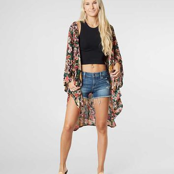Billabong Dreamy Desert Cardigan - Women's Kimonos in Multi | Buckle