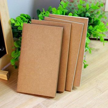 DCCKL72 DIY Vintage Kraft Paper Notebook Creative Journal Notepad For Kids Gift School Supplies Korean Stationery Free Shipping 076