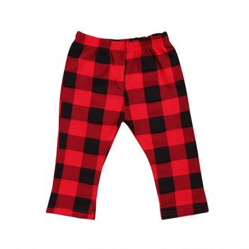 Hot Sale Spring Autumn Baby Pants For Boys Girls Kids Clothing Boy Girl Harem Pants 2018 New Bebes Baby Cotton Plaid Trousers