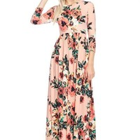 Shape of You Floral Maxi Dress