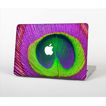 The Neon Peacock Feather Skin Set for the Apple MacBook Pro 15""
