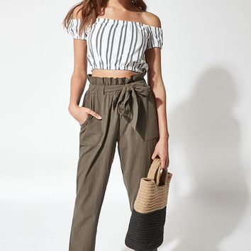 Me To We Scarlet Off-The-Shoulder Top at PacSun.com