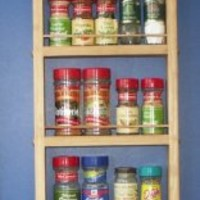 On the Wall Spice Rack Size: 48""