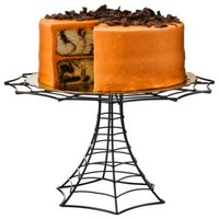 Halloween Steel Wire Cake Stand - Black