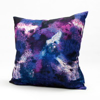 Decorative Housewares Pillow Cover Purple Blue Star Light Cushion Cover Chemical Fiber Throw Pillow Pillow Case Customized Handmade 1671