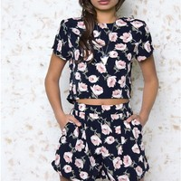 Annalis 2 Piece Floral Set
