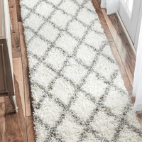 nuLOOM Shags Shanna Shaggy Runner Area Rug