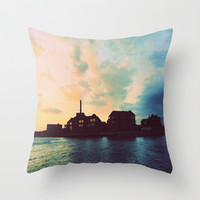 Life By the River #2 Throw Pillow by 2sweet4words Designs