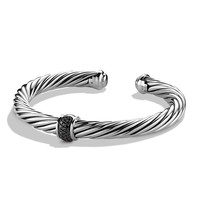 Cable Classics Bracelet with Black Diamonds - David Yurman