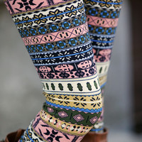 Pastel Aztec Leggings