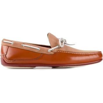 Salvatore Ferragamo Two-Tone Loafers