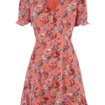 UTILITY ROSE TEA DRESS