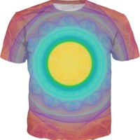 Eye of Ra [For The Love Bubble of 24] | Fractal Clothes | Rave & Festival Shirt