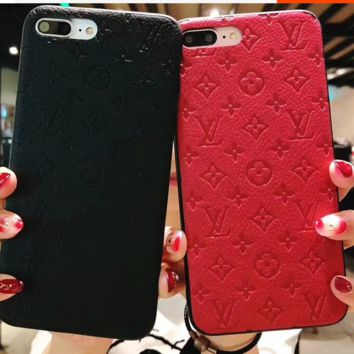 Gucci PU leather iphone case for iphone 6/6s/6plus/7plus/8plus/X