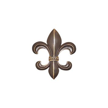 Fleur De Lis | French Inspired Decor | Antique Bronze Resin