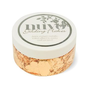 Nuvo - Gilding Flakes - Sunkissed Copper (200ml) - 852n