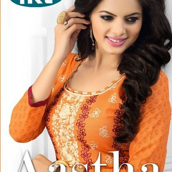 Dress Material by nikita astha Salwar Kameez indian bollywood light embroidery, semi stiched DRESS MATERIAL make your chioce from collection