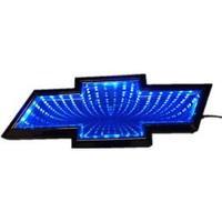 Superled Blue LED Car Decal Logo Light Emblem Sticker for Chevrolet Cruze