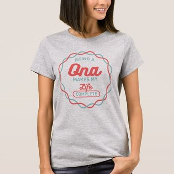 Being Ona T-Shirt