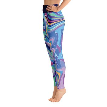Beyond Blue Yoga Leggings