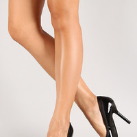 Luxe-11 Patent Pointy Toe Pump