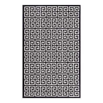 Freydis Greek Key 5x8 Area Rug
