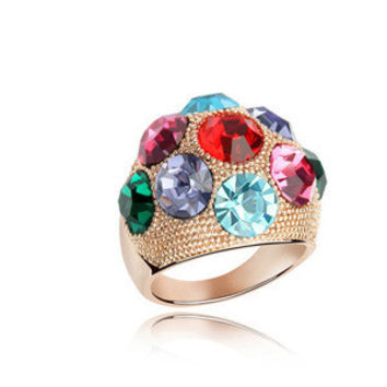 Shiny New Arrival Stylish Gift Crystal Accessory Jewelry Ring [4989614532]