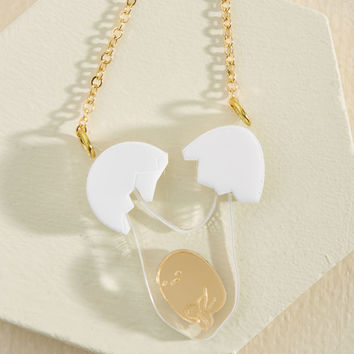It's For Your Own Gudetama Necklace | Mod Retro Vintage Necklaces | ModCloth.com