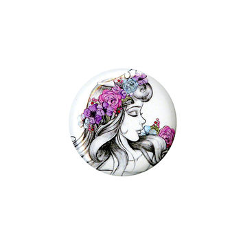 Disney Sleeping Beauty Aurora Sketch Pin