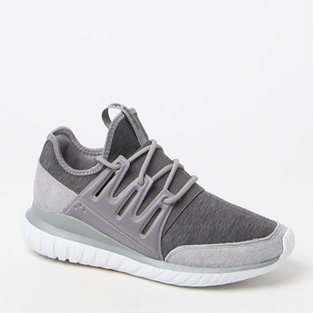 adidas Tubular Radial Grey Shoes at PacSun.com