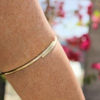 Fairytale Gold Upper Arm Bracelet