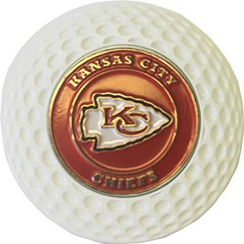 Kansas City Chiefs Golf Ball Marker in Acrylic Poker CHIP Gift IDEA NFL
