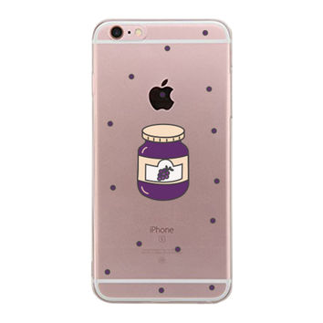 Each Other - Jelly BFF Clear Phone Case - Right