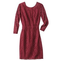 Merona® Women's Longsleeve Lace Dress -Red