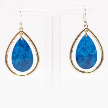 Summer Rain Drop Earrings
