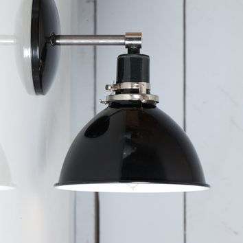Black Shade - Steel Wall Sconce
