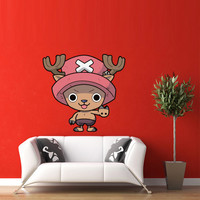 Full Color Wall Decal Vinyl Sticker Decor Art Bedroom Design Mural Like Paintings Manga Anime Tony Chopper One Piece (col492)