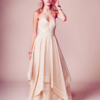$700.00 Free People Jill's Limited Edition White Summer Dress at Free People Clothing Boutique