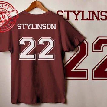 Larry Stylinson Shirt Stylinson 22 Tshirt Unisex, One Direction shirt for male and female S-XXL