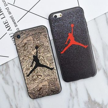 VONET6 Jordan Brand Logo NEW Soft Silicon TPU Cute Case for iPhone 5s, Fashion Phone Cover Co