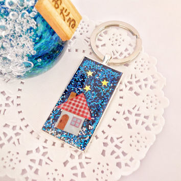 Keychain, Bag Dangles, A Gift for Him or Her