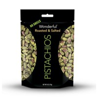 Wonderful Shelled Roasted and Salted Pistachios 6 oz Pouches - Pack of 1 - Walmart.com
