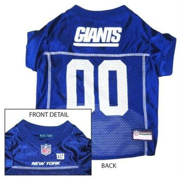 ONETOW New York Giants Dog Jersey