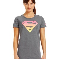 Under Armour Women's Under Armour Alter Ego Ombre Supergirl Semi-Fitted T-Shirt