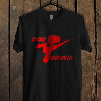 Nike Just Do It Red T Shirt Mens T Shirt and Womens T Shirt *